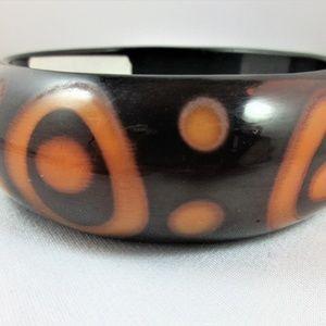 """Jewelry - Vintage 2"""" chunky bangle bracelet"""